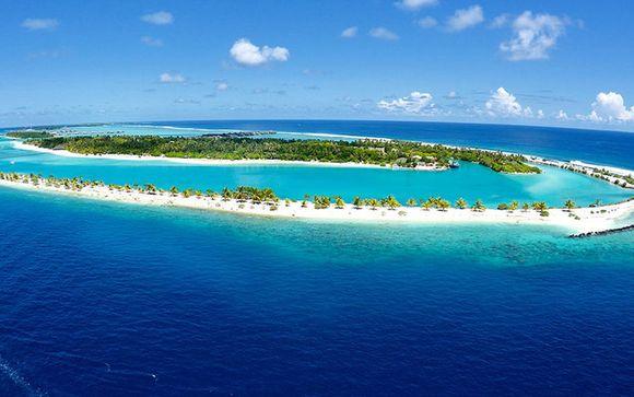 Votre extension à l'hôtel Paradise Island Resort 5* aux Maldives