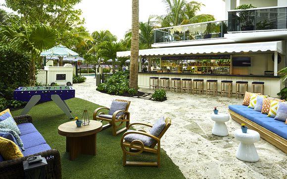 Poussez les portes de l'hôtel The Confidante Miami Beach 4* à Miami