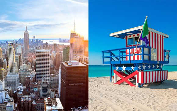 Combiné Hampton Inn Manhattan Times Square et East Miami
