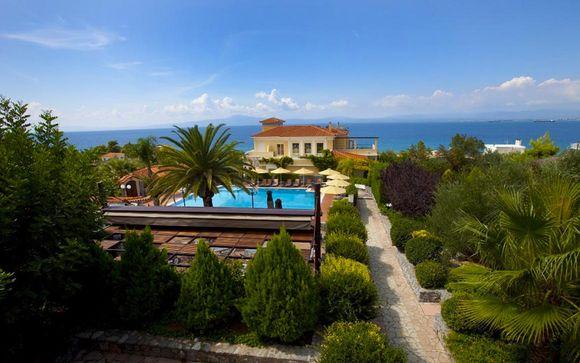 Poussez les portes de l'hôtel Akti Taygetos Conference Resort 4*