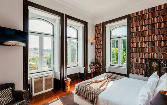 Poussez les portes de l'hôtel Torel Palace 5* à Lisbonne