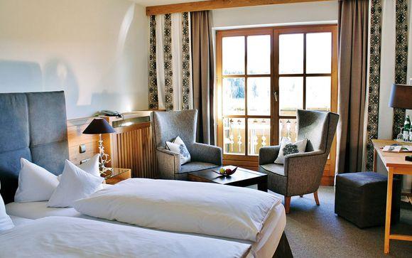 Poussez les portes de votre Parkhotel Am Soier See 4*