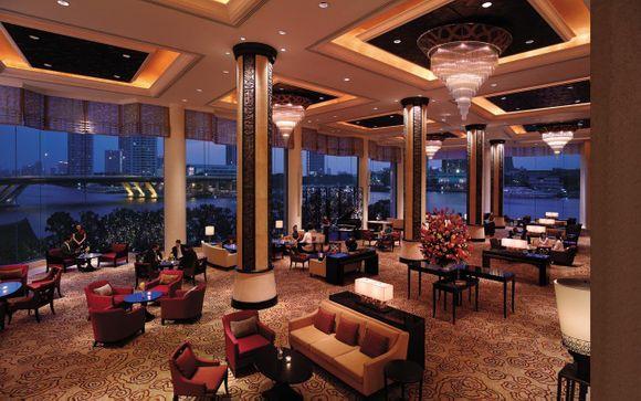 Poussez les portes de l'hôtel Shangri-La Bangkok 5*