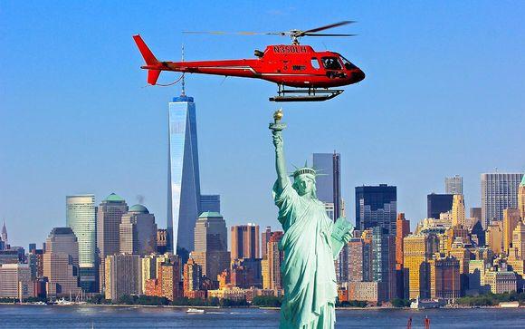 Option vol en hélicoptère : New-York