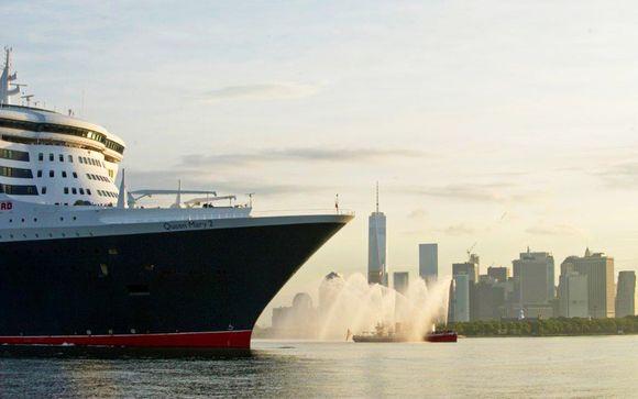 Croisière Transatlantique à bord du Queen Mary 2 et séjour à New York