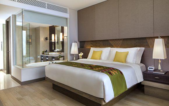 Poussez les portes de l'hôtel Hôtel Mövenpick Resort & Spa 5* à Jimbaran