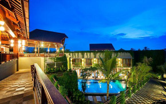 Poussez les portes de l'hôtel Ubud Wana Resort 4* à Ubud
