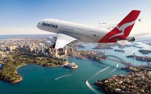 Offrez-vous le luxe d'un vol en A380 avec Qantas