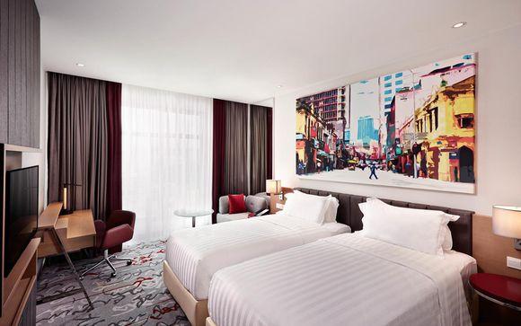 Poussez les portes de l'hôtel Mercure Kuala Lumpur Shaw Parade 4* à Kuala Lumpur