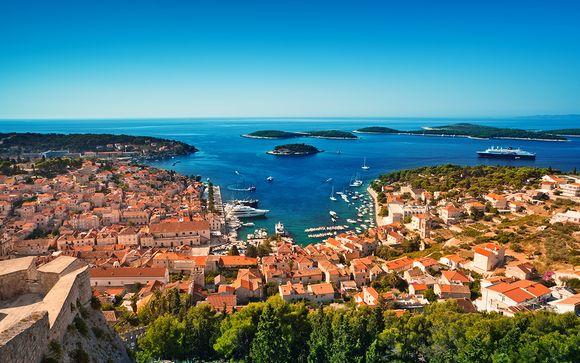 Croisière en Adriatique en yacht + extension possible à Split