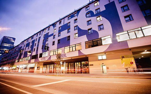 L'Hotel Zeitgeist Vienna Hauptbahnhof 4*