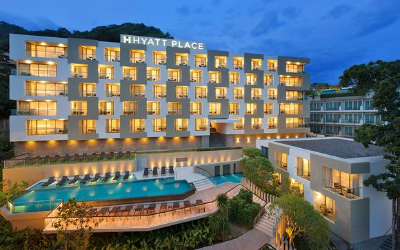 Estensione mare: Hyatt Place Patong 4* a Phuket