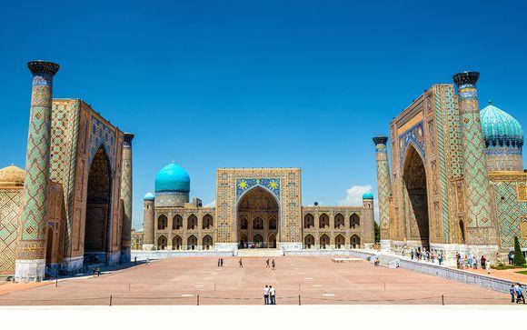 Risultati immagini per uzbekistan sulla via della seta
