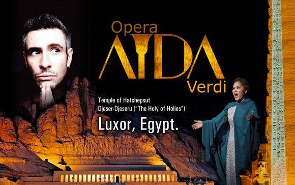 L'Aida di Giuseppe Verdi a Luxor con soggiorno in 5*
