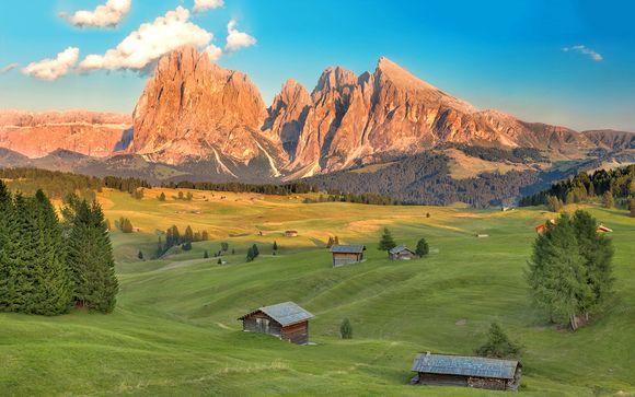 Suite e spa di charme nel cuore delle Dolomiti
