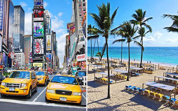 Hampton Inn Times Square + H10 Ocean Blue & Sands Resort