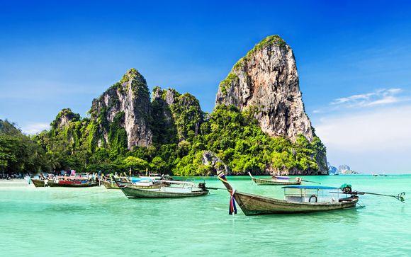 Column Hotel Bangkok 4* - Away Chiang Mai Thapae Resort  4* - Metadee Resort and Villas 5* Phuket