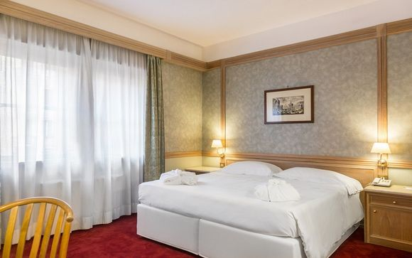 L'Hotel Beverly Hills Rome 4*