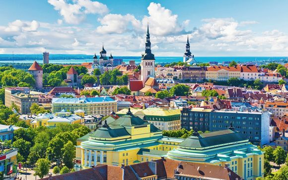 Stoccolma, Helsinki, Tallin e Riga