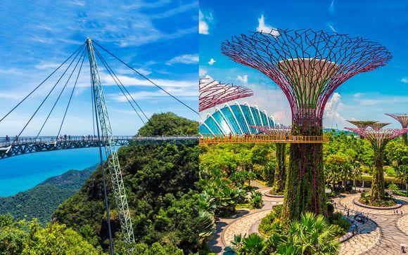 Esotico e selvaggio 5* malese e oasi di pace a Singapore
