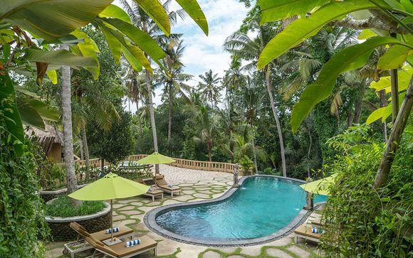 Hotel a Ubud (in base alla disponibilità)