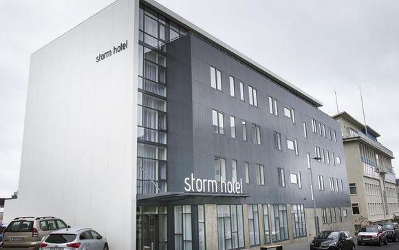 Reykjavik - Kea Storm Hotel 3*