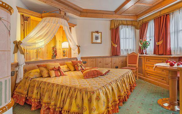 Suite in Family Hotel dall'atmosfera fiabesca