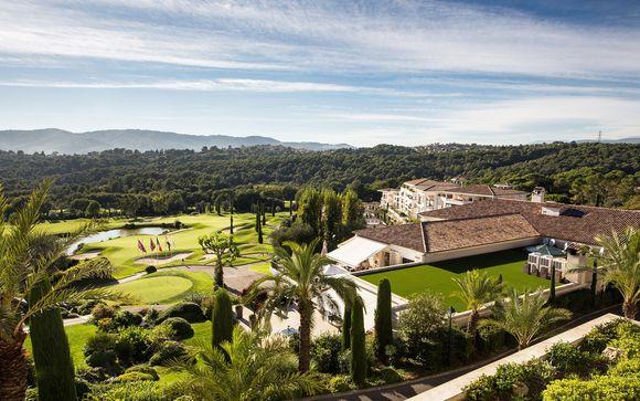 Suite in Golf Resort 4* affacciato sulla Costa Azzurra