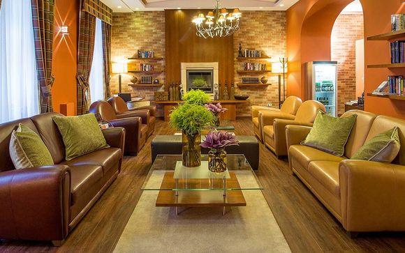 Atmosfere romantiche a 4* in eleganti Suite Deluxe