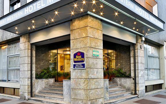 Milano, 14 gennaio 2017: Best Western Hotel 4* o similare