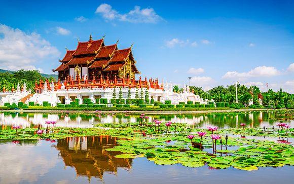 Tour privato del Nord con estensione mare a Phuket
