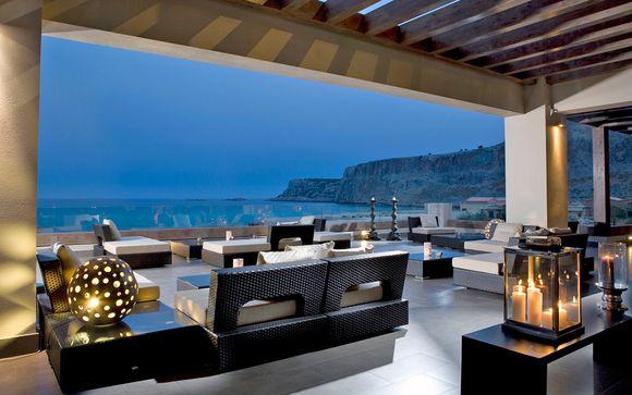 Incantevoli Suite 5* con vista sul Mar Egeo