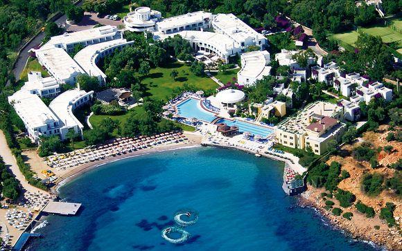 Resort 5* sulla spiaggia in All Inclusive