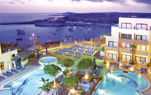 All Inclusive in 4* con spa e vista su Gozo e Comino