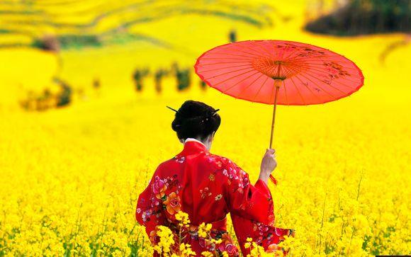 Autotour in Giappone di 12 o 14 notti