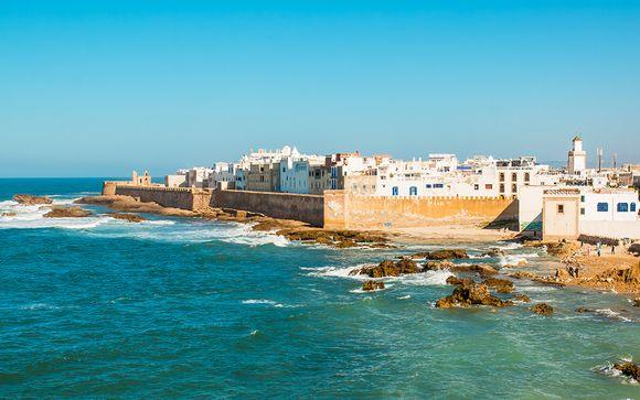 Camere con vista in 4* sul lungomare di Essaouira