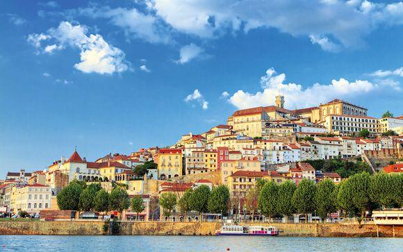 L'itinerario per le partenze del 2 agosto da Lisbona a Porto