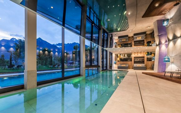 Romantica Suite in spa Resort 4*S in Alto Adige