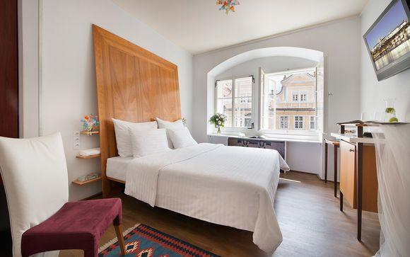 Hotel 4* ai piedi del Castello di Praga