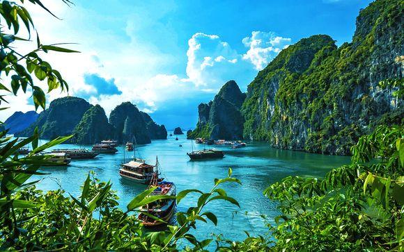 Tour Vietnam in libertà: gastronomia, cultura e relax in hotel 4*