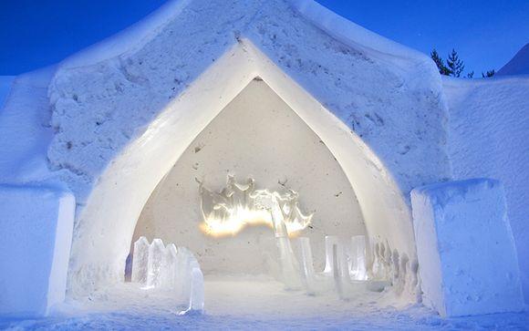 A 30 km da Rovaniemi - Hotel di ghiaccio