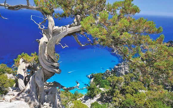 Resort 4* in parco naturale sul mare cristallino della Sardegna