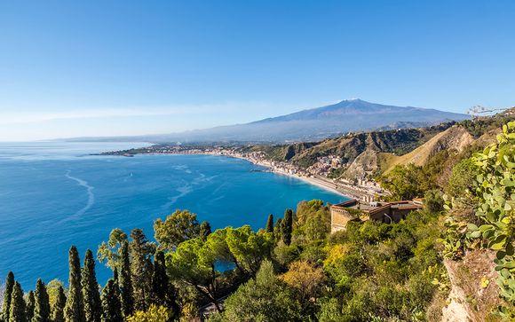 4* alle pendici dell'Etna affacciato sul golfo di Naxos