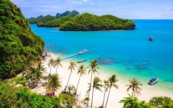 Bangkok e la splendida spiaggia di Lamai in resort 4*