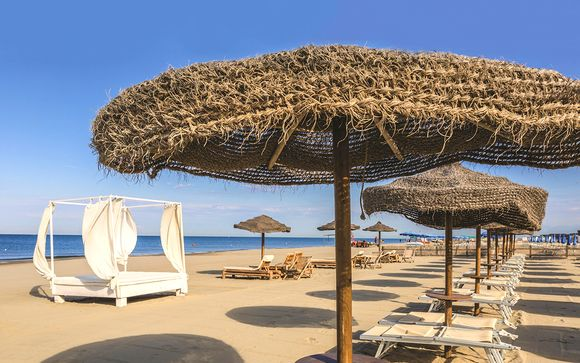 Nuovissimo hotel 4* direttamente sul mare
