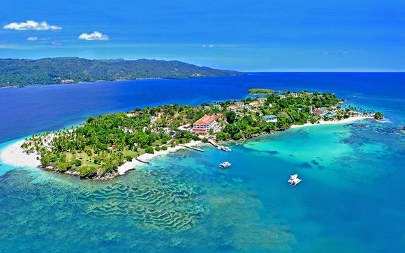 Lussuoso 5* nell'isola paradisiaca di Cayo Levantado