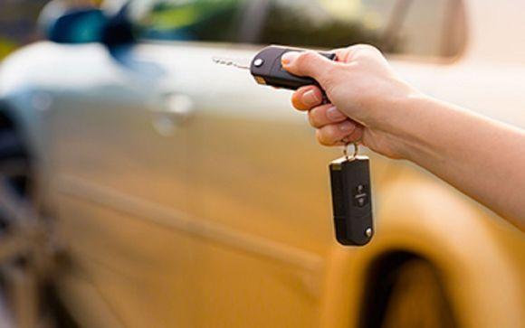 Noleggio auto incluso nella vostra offerta