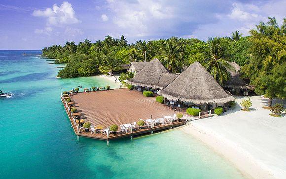 Soggiorno mare alle Maldive - Adaaran Select Hudhuranfushi 4*