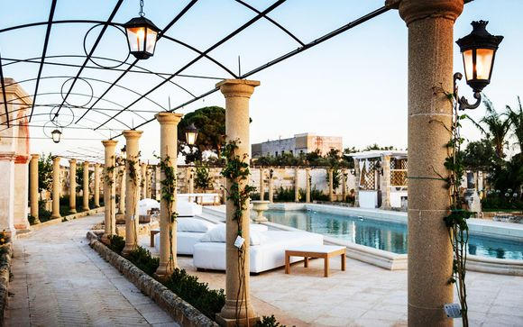 Suite con piscina privata in masseria di lusso nel Salento