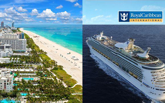 Miami cool 4* e Crociera tra gli scenari incantati delle Bahamas